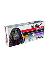 Especies: Caninos Presentación: Estuche conteniendo 4 comprimidos de 550 mg cada uno. Aplicación: Oral